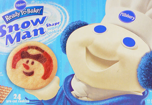 Not this year, Dough Boy.