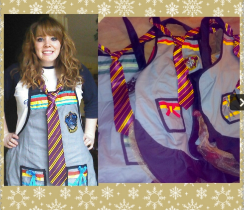 Reppin' Ravenclaw, as per usual