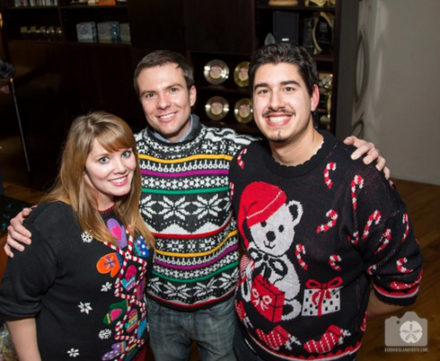 I feel no shame in admitting that I'd gladly and unabashedly wear that sweater year round.