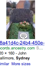 Here's a picture of my grave in case you didn't believe me.