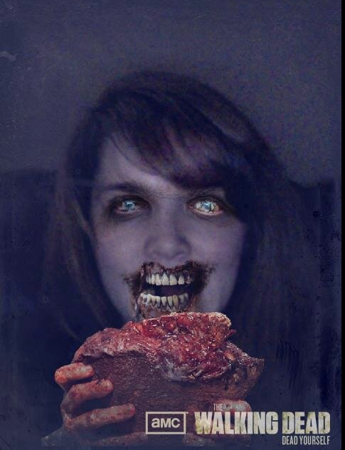 I make a pretty hot Zombie