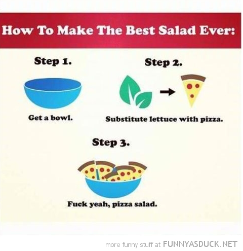 Best salad ever.