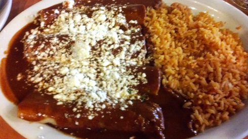 I love chocolate, so I don't understand why I don't love mole sauce.