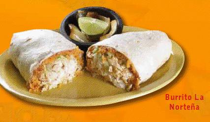 Pixellated burrito!