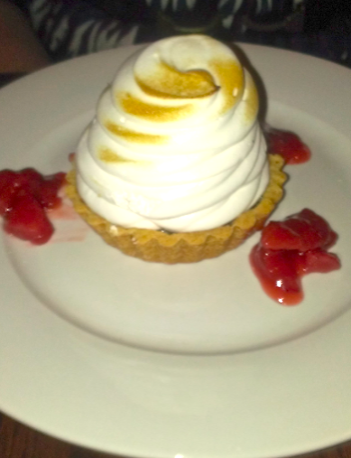 "It really should read ""meringue, served with a side of lemon tart"""