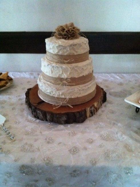 Pecan Wedding Cake